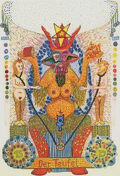 XV. The Devil: Zigeuner Tarot