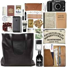 Sem título #32 by b-ellisima on Polyvore featuring Iosselliani, Ray-Ban, Lord & Berry, Jack Wills, Aesop, H&M, Olympus and Passport
