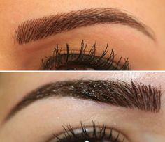 maquillage permanent sourcils réussi poil par poil à effet 3d