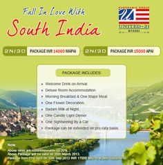Mysore tour packages by United-21 Hotel Mysore