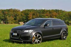 Audi Q7: Stephen said he likes audi