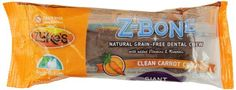 Zuke's Z-Bones Dog Dental Chews are edible dental chews with added vitamins minerals and antioxidants. Z-Bones combine nature's ingredients to help keep breath fresh teeth and gums clean and you...