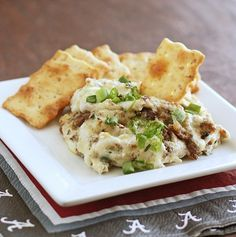 Game day means chip dip. Bacon Swiss dip is the perfect starter!