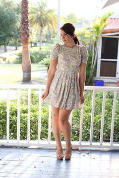 $32 vintage floral dress