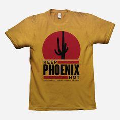 Keep Phoenix Hot Sun Style Ginger T-Shirt