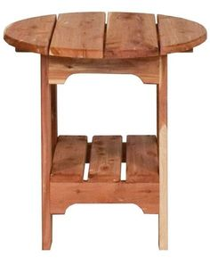 Thanks for this post.Pallet Furniture Amish Outdoor Round Side Table Put one on the patio and another.Pallet Furniture Amish Outdoor Round Side Table Put one on the patio and another poolside. - Amish Cedar Wood Round End T# Amish Cedar Furniture, Outdoor Furniture Plans, Woodworking Furniture, Rustic Furniture, Furniture Decor, Furniture Design, Amish Furniture, Woodworking Tools, Antique Furniture