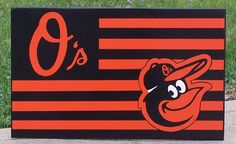 Baltimore Orioles Flag  DOUBLE LOGO NATION Flag by duranduran2946