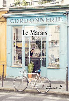 París, ruta por Le Marais. www.teaonthemoon.com