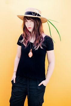 hat goals 👒 - portrait by SAINT LUCY Represents photographer Anastasiia Sapon
