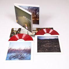 American Football - Self Titled LP1 Deluxe Vinyl 2xLP Red 180 Gram New Sealed #PostRock