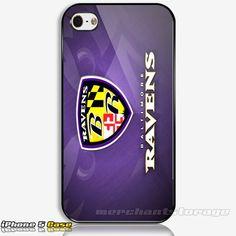 Baltimore Ravens Custom iPhone 5 Hard Case Cover