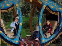 The Carriage of former Iran's Queen in Saad Abad Palace Complex, #Tehran, #Iran  www.Realiran.org