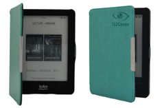 SlimFit Cover Protective Case for the Kobo Glo - Sky Blue