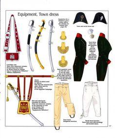 Dotazione individuale, accessori e armi bianche degli ussari francesi