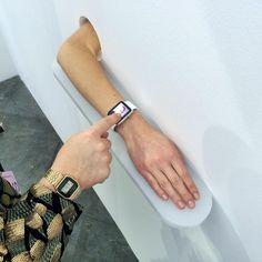 """Massimo Grimaldi """"Forearms"""" 2015,  Galleria Zero - Per4m 2015"""