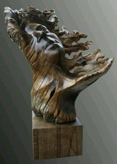 Rostro ♠️♠️️WOOD SCULPTURES : More At FOSTERGINGER @ Pinterest ️♠️♠️