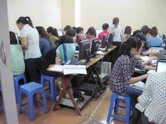 Lớp học Kế toán thực hành