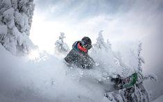 Scarica sfondi snowboarder, estremo, sport invernale, snowboard