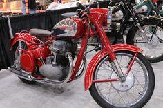 OldMotoDude: 1954 Jawa 1500 sold for $9,900 at the 2020 Mecum L... Kawasaki 250, Motorcycle Leather, Baboon, Moto Guzzi, Street Bikes, Vintage Motorcycles, Mustang, Wheels, Auction