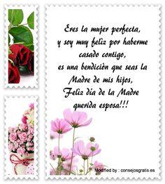 descargar mensajes bonitos para el dia de la Madre,mensajes de texto para el dia de la Madre: http://www.consejosgratis.es/mensajes-por-el-dia-de-la-madre-para-mi-esposa/