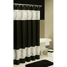 black and white shower curtain set. Creative Bath Black and White Bathroom Collection Bundle  Apartment Pinterest collections bathrooms