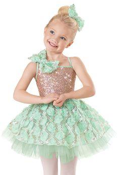 Weissman™   Sequin Rosette Mesh Skirt Dress