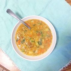 Vegetable Lentil Sou