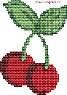 Thrilling Designing Your Own Cross Stitch Embroidery Patterns Ideas. Exhilarating Designing Your Own Cross Stitch Embroidery Patterns Ideas. Cross Stitch Fruit, Cross Stitch Kitchen, Cross Stitch Flowers, Cross Stitch Charts, Cross Stitch Designs, Cross Stitch Patterns, Cross Stitching, Cross Stitch Embroidery, Beading Patterns