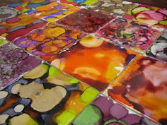 Alcohol Inks - Experiments in Art Education: High School