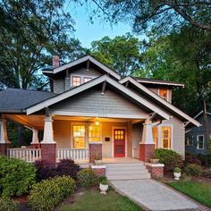 Added Front Porch Exterior Design Ideas, Pictures, Remodel and Decor