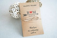 Wedding Tears of Joy - Set of 50 Packs - Wedding Tissues - Happy Tears Packs - Rustic Chic Design - Wedding Monogram - Customized Happy Tears, Tears Of Joy, Wedding Tissues, Wedding Gifts, Wedding Ideas, Rustic Weddings, Monogram Wedding, Rustic Chic, Packing