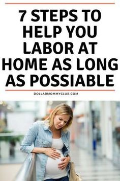 Laboring at home is no east task. But it is nice to be in your own place before heading to the hospital or if you are doing natural these tips are great for you too! Click here to see how to labor at home as long as possible! Labor pains | How to labor at home | Labor Pain tips