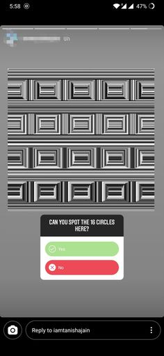 Can you spot the 16 circles?