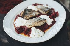 Fish Chraime With Goat Labneh Recipe | Puzzle Israel Recipes #passover #seder #israel #food #travel #puzzleisrael