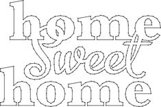 Home Sweet Home Sign String Art Pattern Disney Crafts For Kids, Diy Crafts For Kids Easy, String Art Templates, String Art Patterns, Nail String Art, Diy Wall Art, Wall Decor, Stained Glass Art, Wire Art