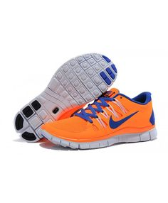 d880bd30c1f4 Best Nike Free 5.0 Womens Blue Orange Sale Outlet - Nike Free Rn 5.0 Womens