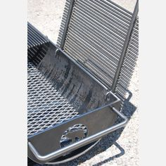 So into this design on Fab! Diy Grill, Grill Oven, Bbq Equipment, Hibachi Grill, Fire Pit Cooking, Barbecue Pit, Homemade Smoker, Smoke Grill, Charcoal Bbq