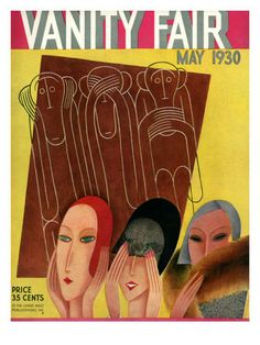 Vanity Fair Cover Featuring Three Monkeys Art Print by Miguel Covarrubias. All prints are professionally printed, packaged, and shipped within 3 - 4 business days. Choose from multiple sizes and hundreds of frame and mat options. Vanity Fair Magazine, Magazine Art, Magazine Covers, Vogue Magazine, Harlem Renaissance, Fantasy Girl, Art Journal Pages, Canvas Wall Art, Wall Art Prints