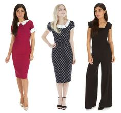 Make the office your runway with our range of chic workwear #fashion #style #chic #elegant #sophisticated #print #pattern #polkadots #berry #lbd #littleblackdress #theprettydress #theprettydresscompany