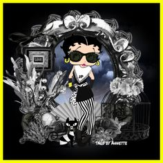 Sweet Betty, Betty Boop Pictures, Cartoon Characters, Fictional Characters, Mental Health, Diva, Bb, Frames, Ivory