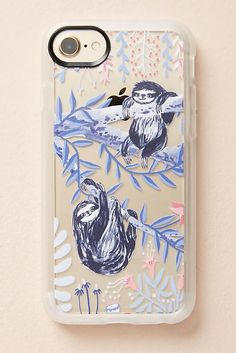 Slide View: 1: Casetify Sloths iPhone 6/6s/7/8 Case