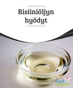 Risiiniöljyn hyödyt   Risiiniöljy on tunnettu sen luonnollisista #laksatiivisista #vaikutuksista, mutta sillä on muitakin #mielenkiintoisia käyttötapoja.  #Luontaishoidot