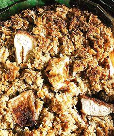 Havreäppelkaka | Recept från Köket.se Paella, Sweets, Mat, Ethnic Recipes, Food, Gummi Candy, Candy, Goodies, Treats