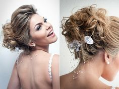 Chic #Bows for your #Wedding #Hairstyle