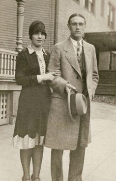 +~+~ Vintage Photograph ~+~+  Handsome couple, Philadelphia 1930
