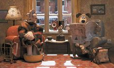 Wallace And Gromit Characters, Dreamworks Animation Skg, Clay Animation, Sheep Cartoon, Shaun The Sheep, A Star Is Born, Cartoon Movies, Stop Motion, Picture Wall