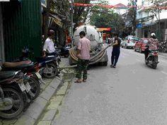 Hút bể phốt tại huyện Xuân Trường - Nam Định