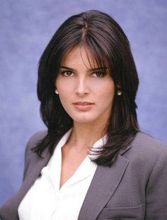 Angie Harmon... I think She Is By Far The Most Beautiful Woman In The World..
