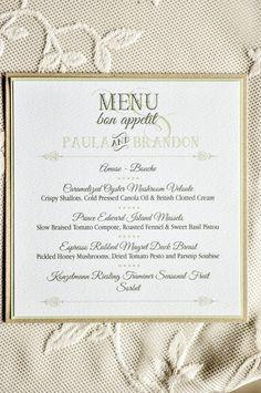 Edible wedding menu wedding ideas pinterest wedding menu and elegant wedding menu fairytale wedding menu elegant menu idea wedding menu idea junglespirit Images