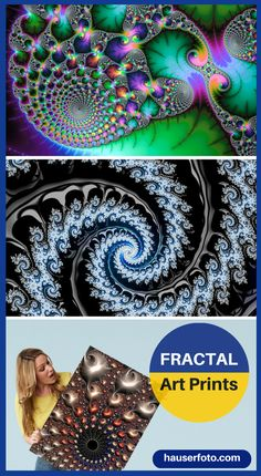 Fractals are modern abstract Art, a wonderful way to decorate your home or office. Imagine a large metal or acrylic print of a beautiful colored Fractal hanging in your living room, bedroom or dining room. Click / tap here or on the image to view a Gallery with more than 400 fascinating Fractals: http://matthias-hauser.pixels.com/collections/fascinating+fractals 30 days money back guarantee on every purchase. Matthias Hauser - Art for your Home Decor and Interior Design needs.